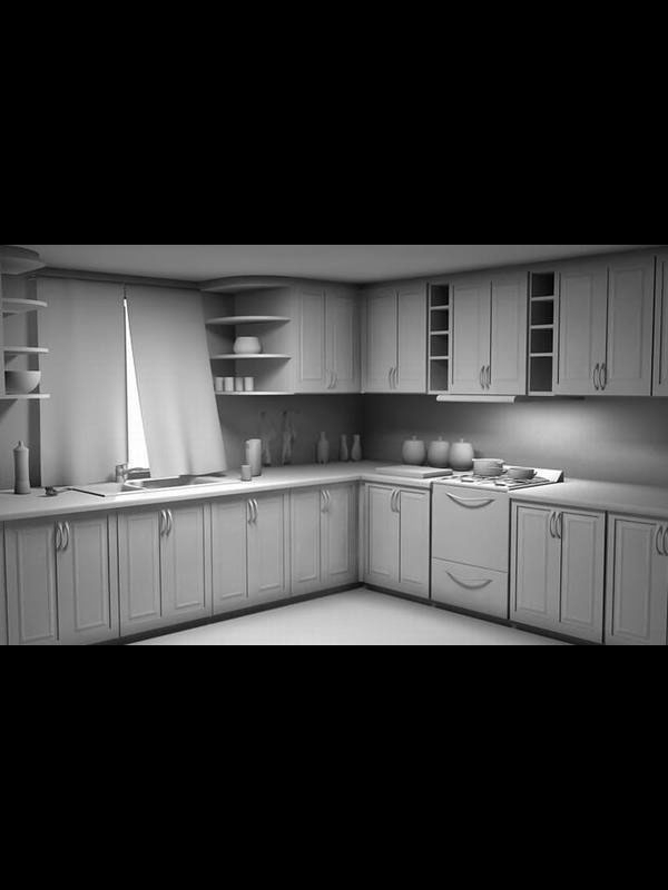 Kitchen Model 2